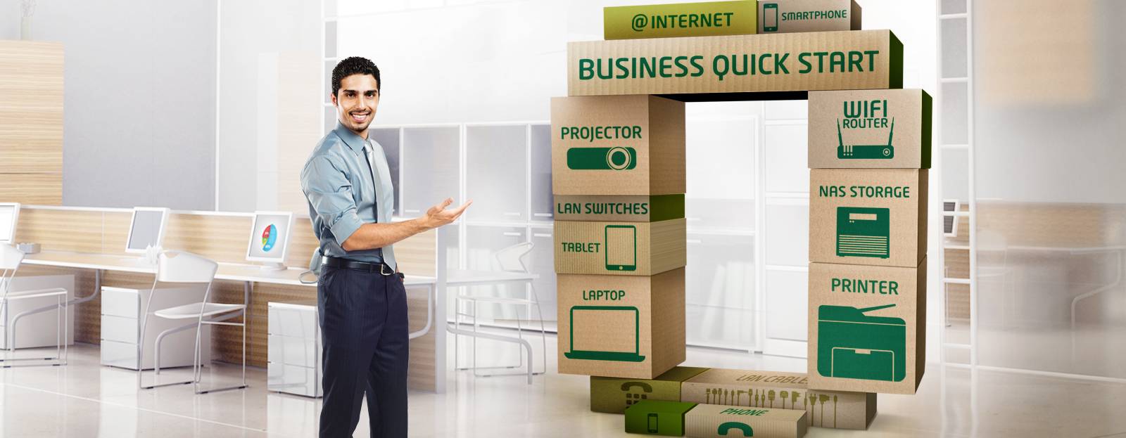 Etisalat Business Quick Start Services