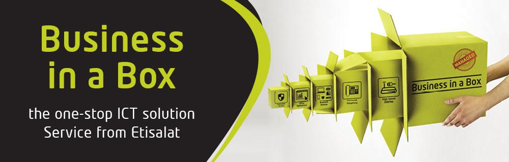 Etisalat business in a box - ICT Solutions