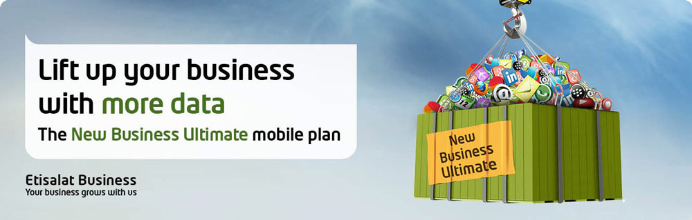 Etisalat New Business Ultimate Mobile Plan