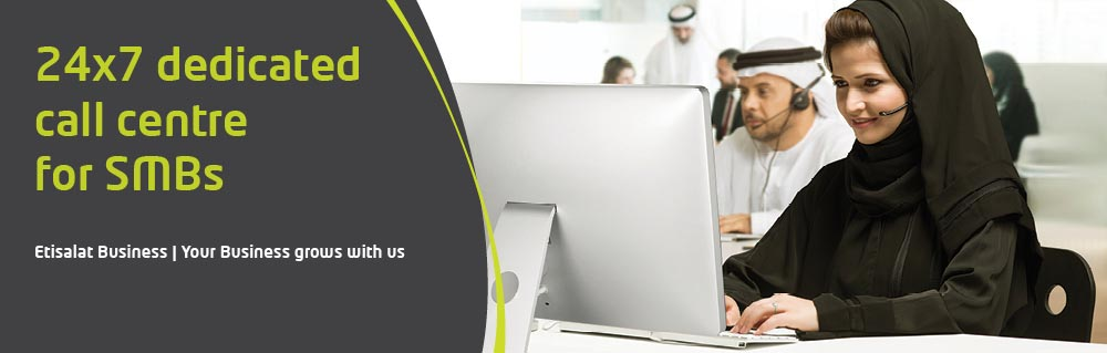24/7 Etisalat Dedicated cal centre for SMBs